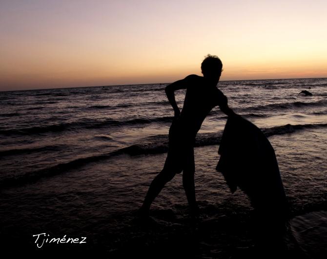 Toreando al mar